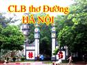 Website của CLB thơ Đường Hà Nội
