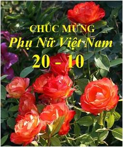 Chúc mừng Ngày Phụ Nữ Việt Nam (20-10)!
