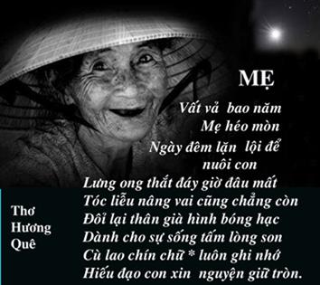 giới thiệu Bài thơ về mẹ