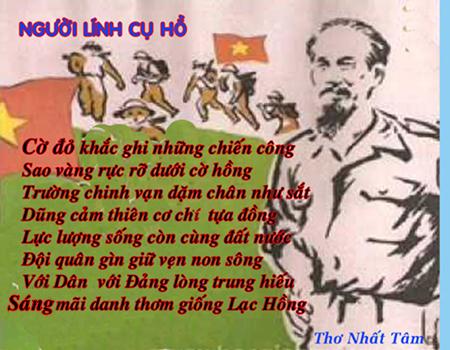 Tiến tới kỷ niệm 76 năm Ngày Thành lập QĐND Việt Nam