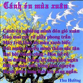 Cánh én mùa xuân