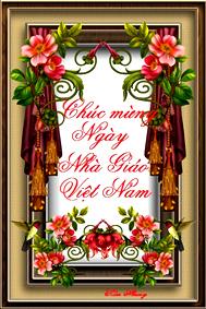 Chúc mừng Ngày Hiến Trương Nhà Giáo Việt Nam