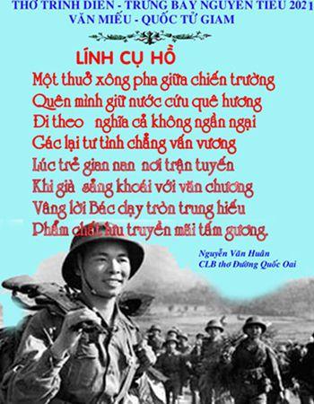 LInh Cụ Hồ Tác giả Nguyễn Văn Huân